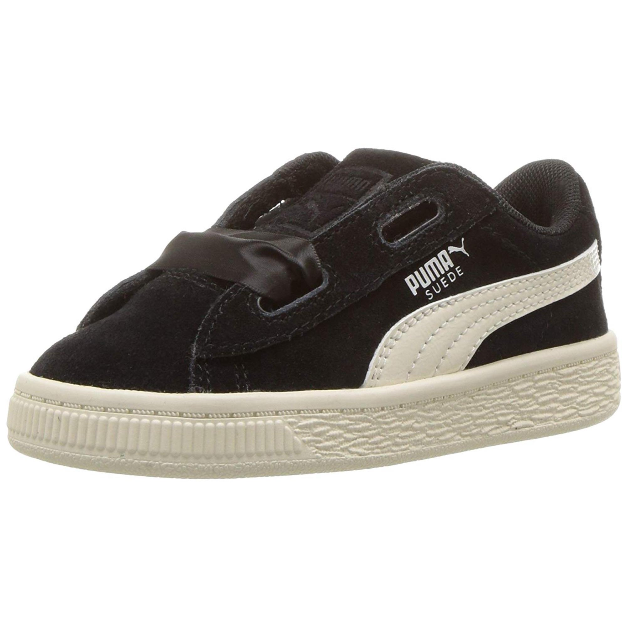 info for 14f23 5812d Puma Suede Heart Jewel Black/Whisper White Ankle-High ...