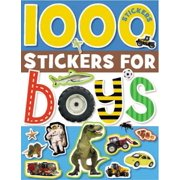 1000 Stickers For...: 1000 Stickers for Boys (Other)