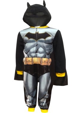 Batman boys' hooded costume fleece pajama blanket sleeper