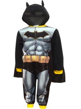 Batman boys' hooded costume fleece pajama blanket sleeper