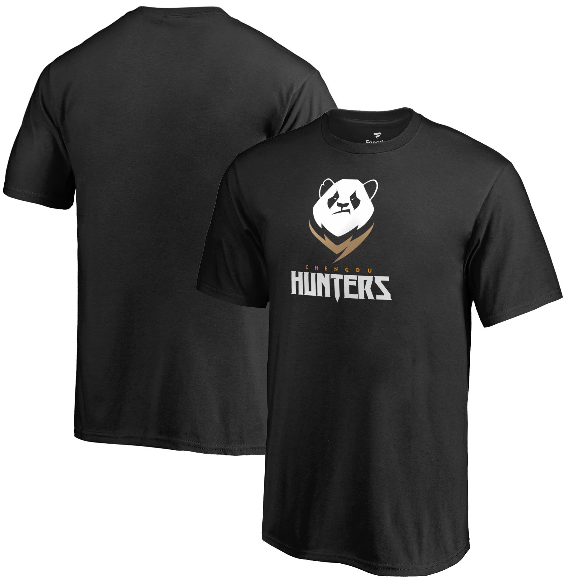 Chengdu Hunters Fanatics Branded Youth Team Identity T-Shirt - Black