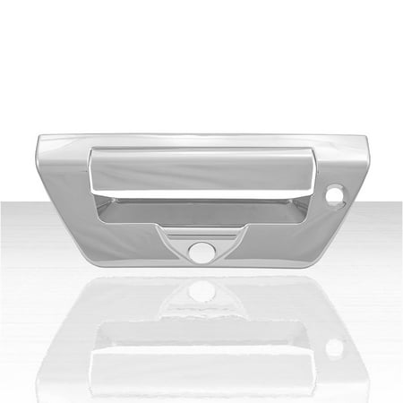 2pc Rear Tailgate Handle Cover for 2018-2019 Ford F150 - - F350 Chrome Tailgate