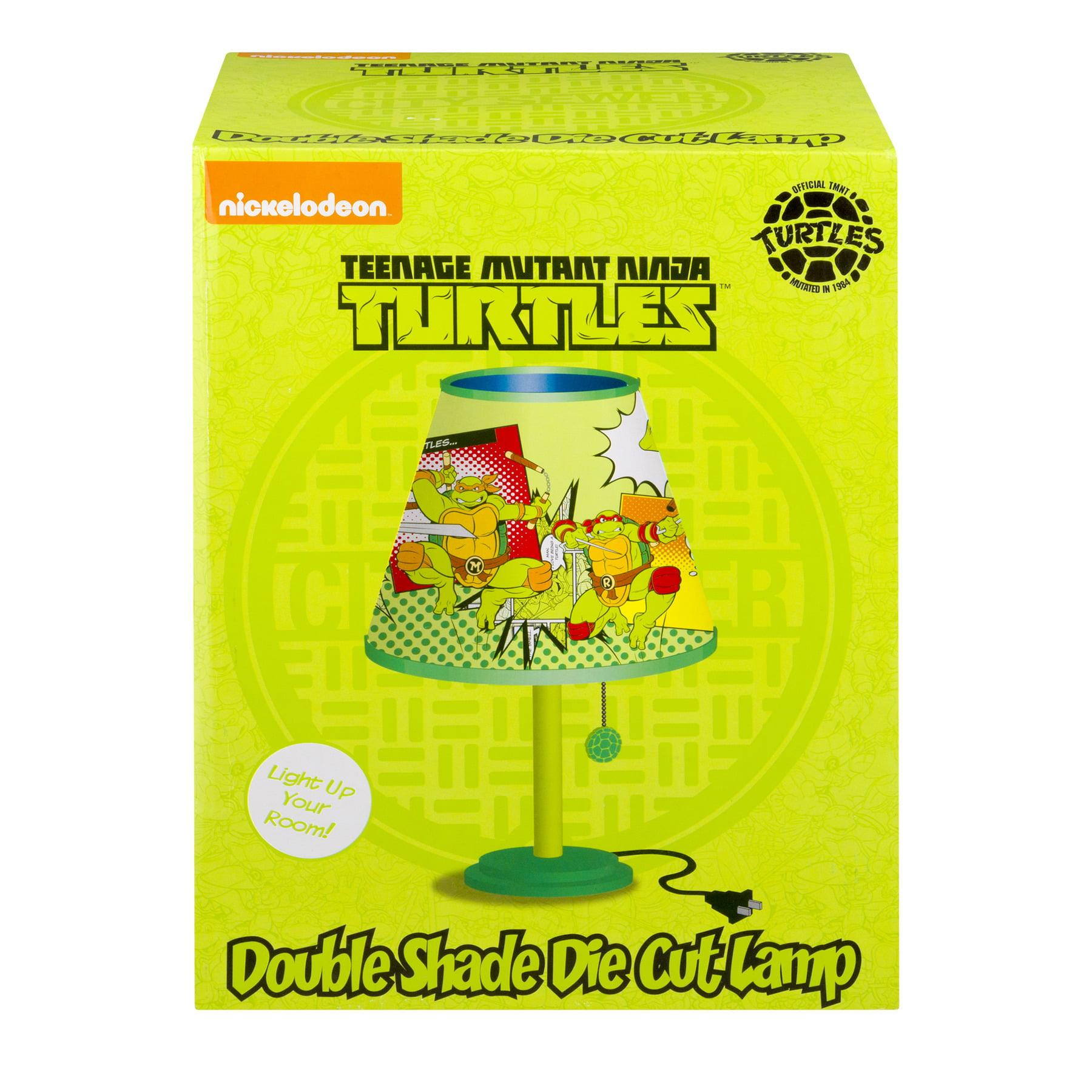 Teenage Mutant Ninja Turtles Double Shade Die Cut Lamp, 1.0 CT