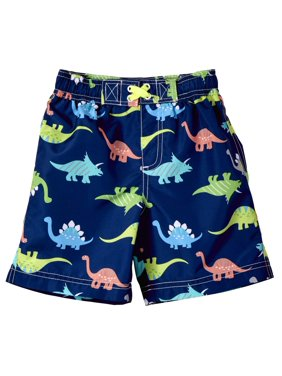 WIPPETTE KIDS Dinosaur All Over Print Board Short Swim Trunk (Baby Boys & Toddler Boys)