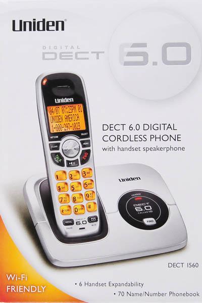 uniden dect 6 0 digital caller id cordless phone dect1560 rh walmart com Uniden ELT560 Cell Phone Home Uniden Cordless Manual