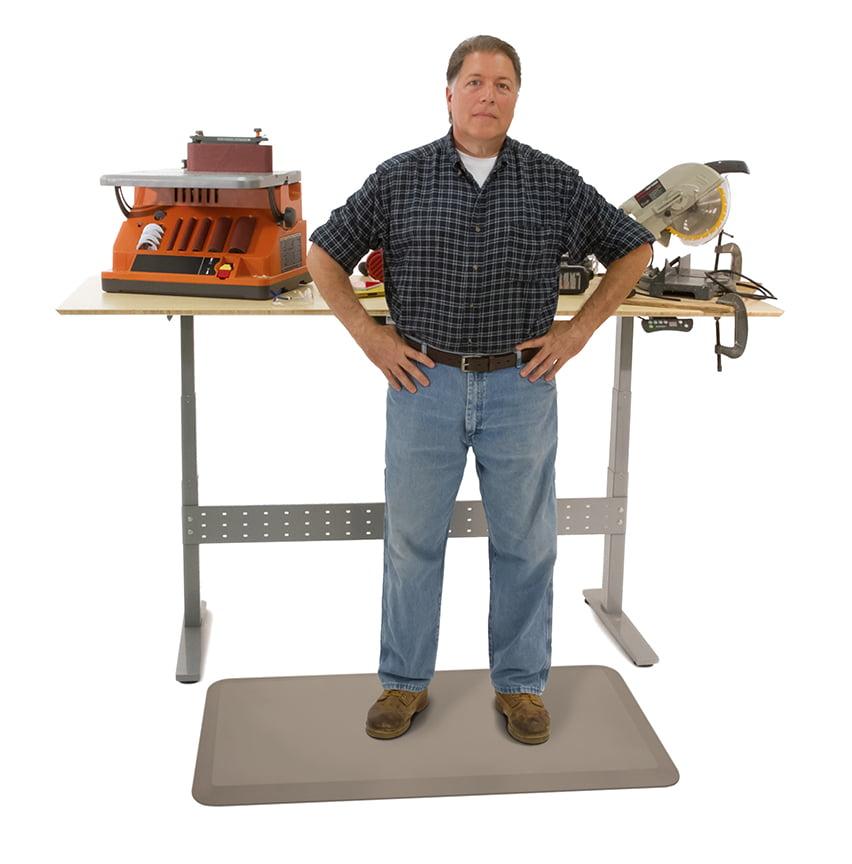 NewLife by GelPro Professional Anti-Fatigue Floor Mat 24x36 Stone