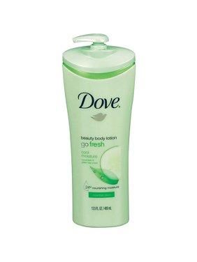 Dove Go Fresh Cool Moisture Cucumber & Green Tea Beauty Body Lotion for Normal Skin, 13.5 fl oz