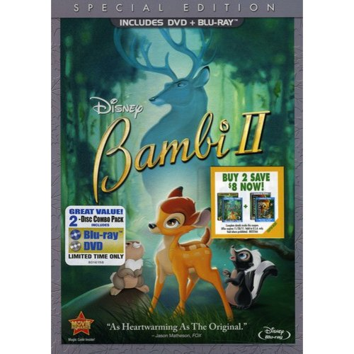 Bambi II: Special Edition (DVD + Blu-ray)     (Widescreen)