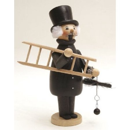 - Chimney Sweep German Christmas Incense Smoker Made in Erzgebirge Germany Burner