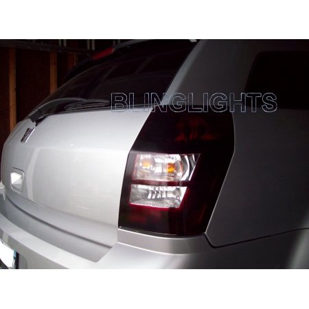New 2005-2008 Dodge Magnum Tinted Smoked Taillamp Taillights Overlays Film Protection ()