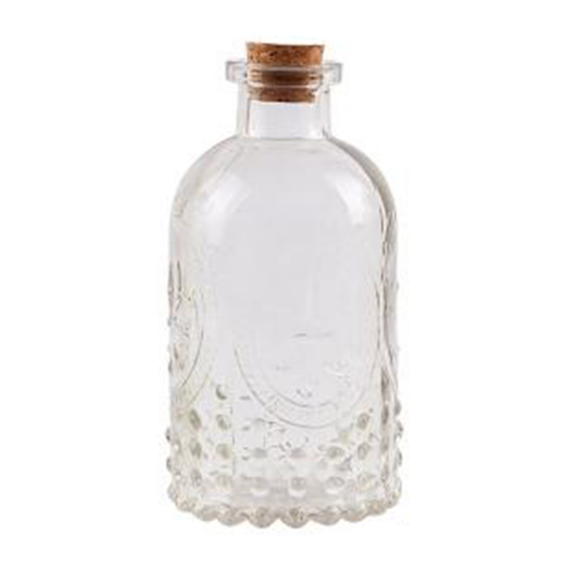 Collectible Glass Small Glass BottleVase
