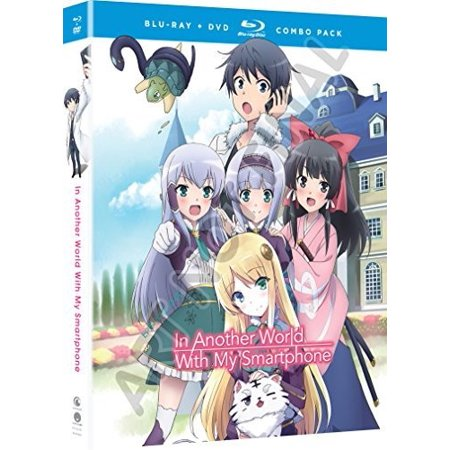 In Another World With My Smartphone: The Complete Series (Blu-ray + DVD)