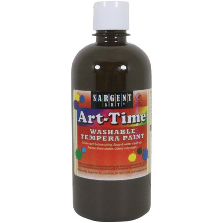 Washable Art-Time(R) Multicultural Tempera Paint 16oz-Brown (Washable Tempera Paint)