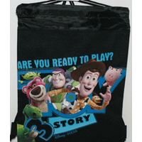 Product Image Drawstring Bag - Toy Story 3 Black String Bag f2f9ce2be54eb