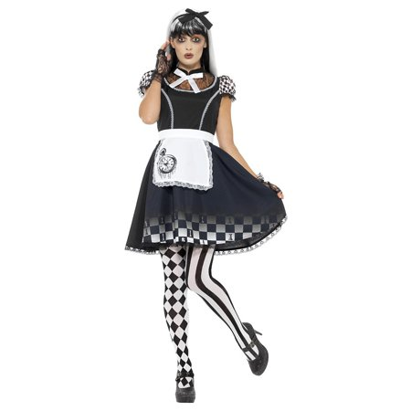 Alyce Dress (Gothic Alice Adult Costume - Plus Size 1X)