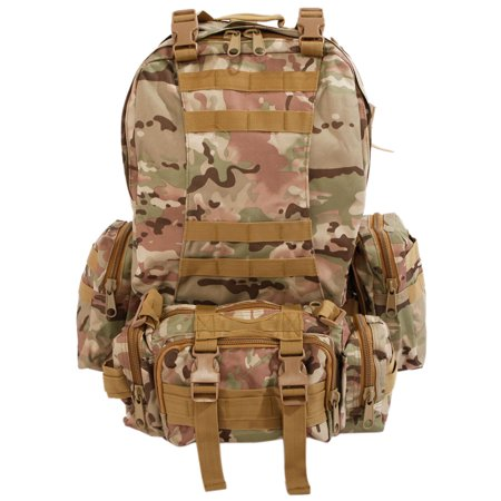 6c46eed44025 Zimtown 55L Molle Outdoor Military Tactical Bag Camping Hiking ...