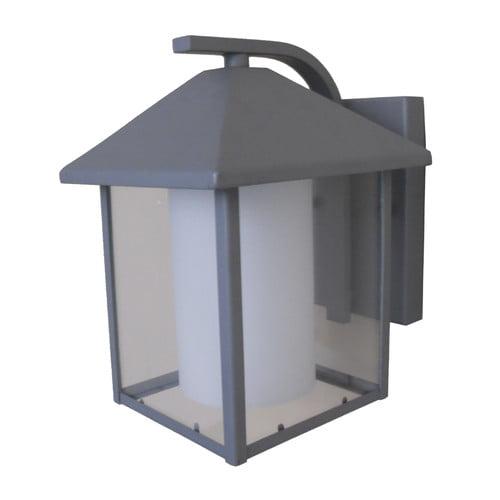 Whitfield 1-Light Silver Grey Wall Lantern