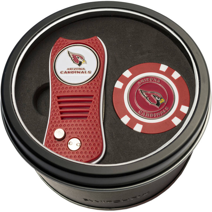 Team Golf NFL Tin Gift Set with Switchfix Divot Tool and Golf Chip