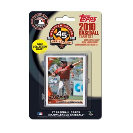 Houston Astros Official Mlb Baseball Cards By Topps