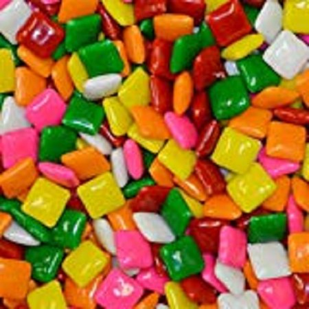 3LB ASSORTED 1000 CHICLE CHICLET CHICKLET GUM VENDING MACHINE BULK GUMBALL CANDY