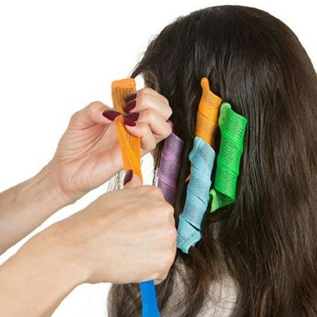 Magic Hair Curlers Twist Leverage Curl Formers Set 18 Piece Set