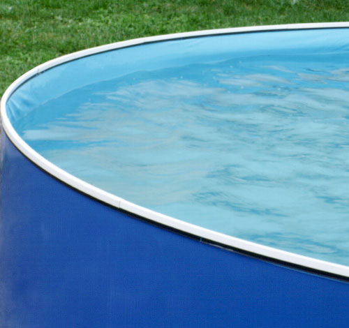 "Heritage Vinyl Blue Port Hole 12' x 36"" Liner"