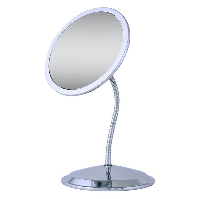 Zadro 10x 5x Chrome Gooseneck Vanity Wall Mirror Chrome