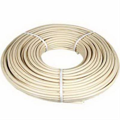 100' Almond Telephone Hook Up Cord 4 Wire Only