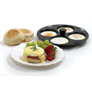 "Norpro Nonstick 4 Egg Poacher For 10-12"" Pans Or Skillets, Kitchen Cooking 992"