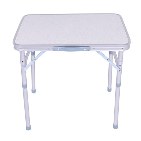 Folding Table Aluminum Camping Lightweight Portable Picnic Le Durable Easy Set Up For