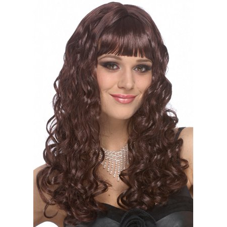 Sexy Wigs Long Brown Hair Adult Halloween Costume Wig - Halloween Costume Ideas Brown Hair