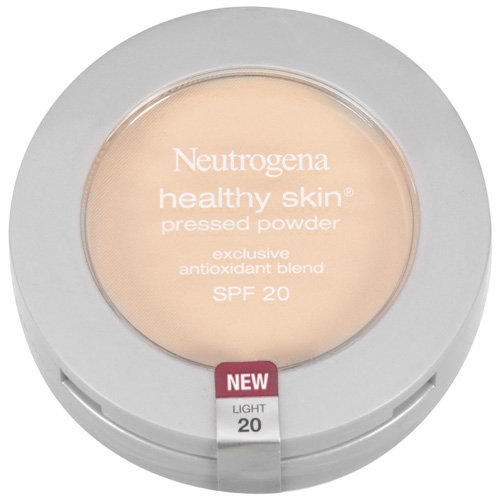 Neutrogena Healthy Skin Pressed Powder SPF 20, Light 20, 0.34 oz