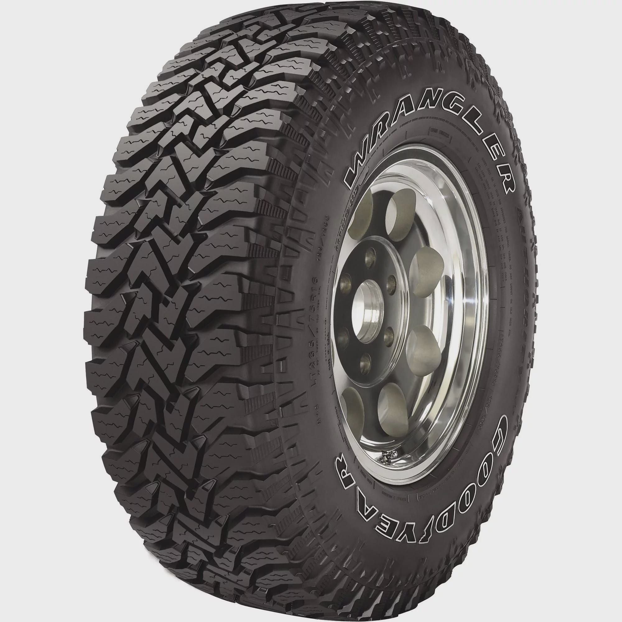 Goodyear Wrangler Authority Tire Lt265 75r16e 123q Walmart Com