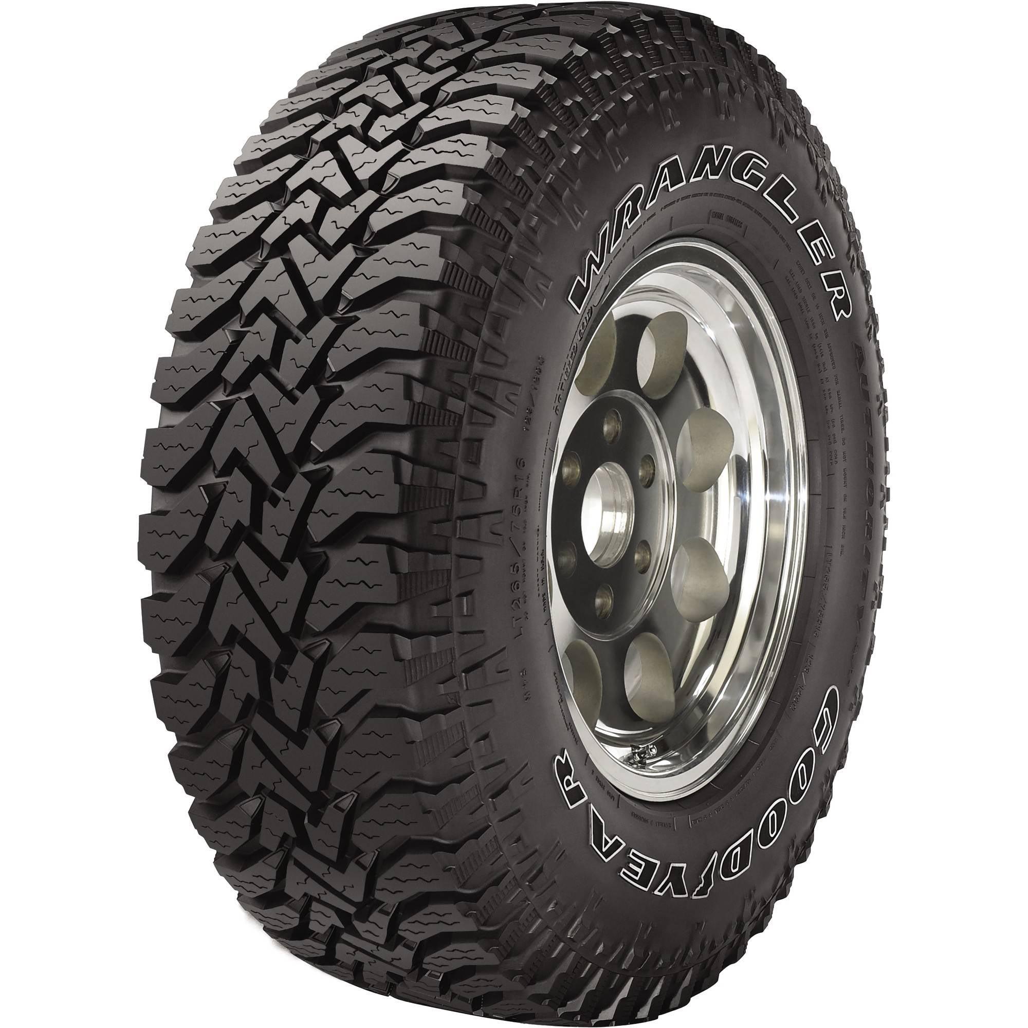 Goodyear Wrangler Authority Tire LT265/75R16E 123Q