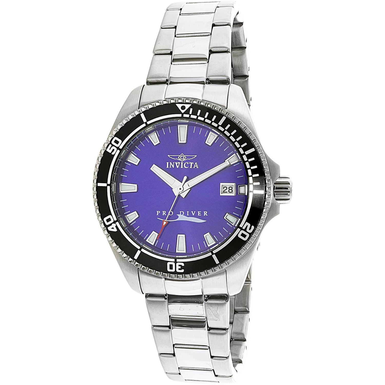 Invicta Men's Pro Diver 15136 Silver Stainless-Steel Japanese Quartz Fashion Watch