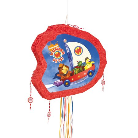 Wonder Pets Pinata, Pull String - Wonder Woman Pinata
