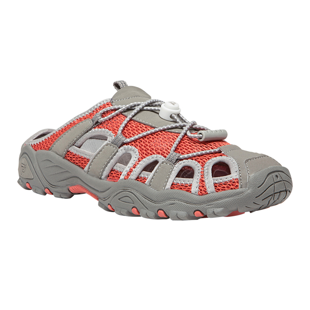 Propet Discovery Slide Outdoor Women's Coral Grey by