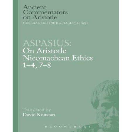 Aspasius: On Aristotle Nicomachean Ethics 1-4, 7-8 (Ancient Commentators on Aristotle) - image 1 of 1