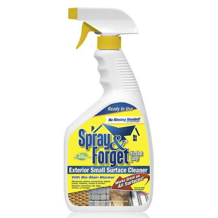 32 oz Exterior Algae Mold Moss Lichen Cleaner Ready To Use Spray