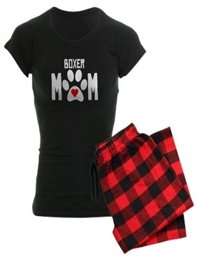 b40c9e902 Product Image CafePress - Boxer Mom Pajamas - Women's Dark Pajamas
