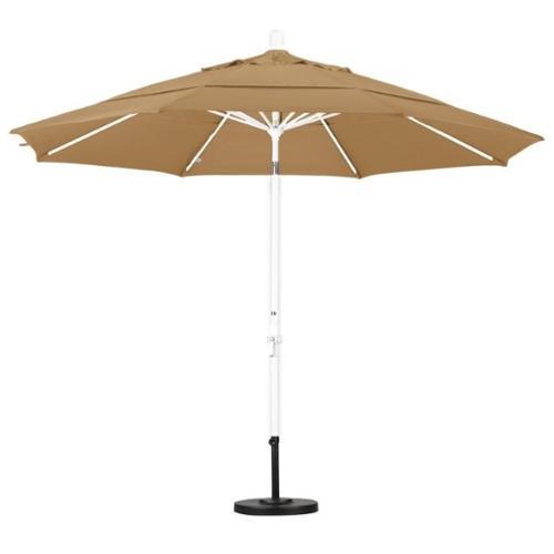 California Umbrella 11' Market Patio Umbrella in Champagne