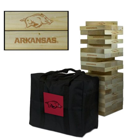 Arkansas Razorback Game (Arkansas Razorbacks Giant Wooden Tumble Tower)