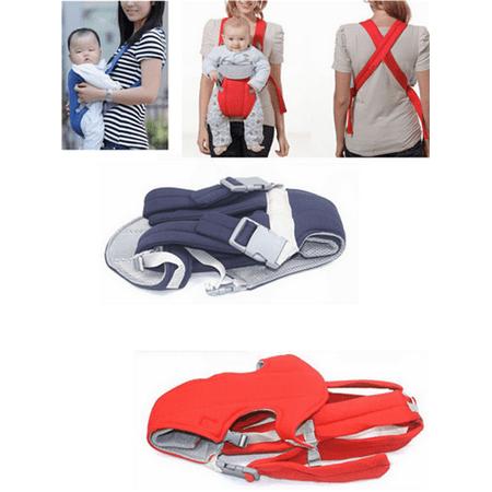 Blue Color Newborn Baby Kid Infant Carrier Backpack Front Back Rider Sling Comfort Wrap Bag