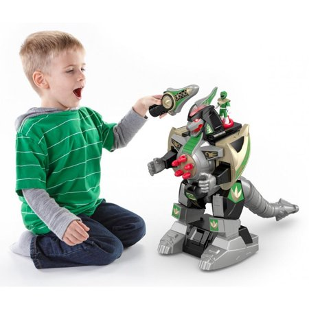 Imaginext Power Rangers Green Ranger & Dragonzord -