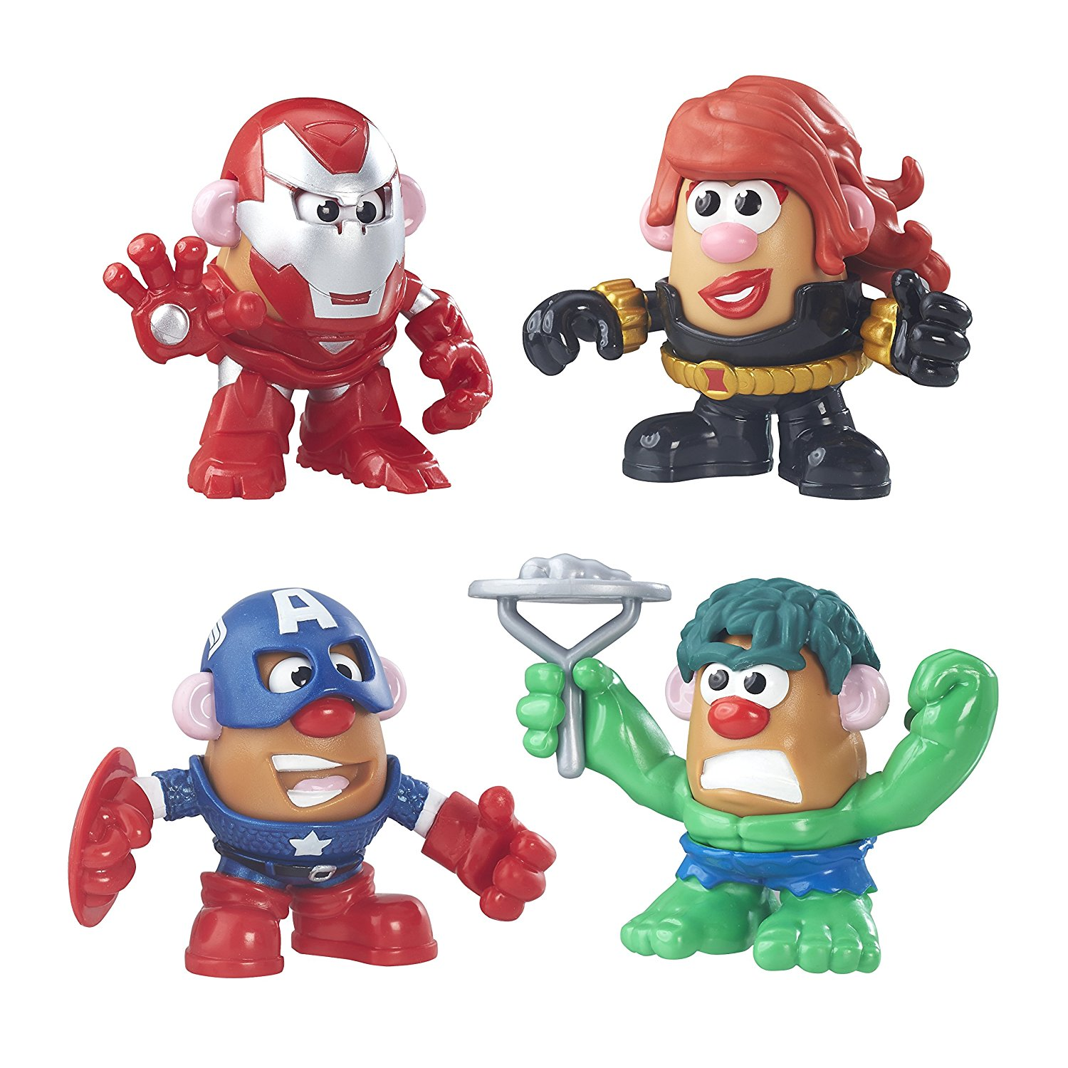 Playskool Friends Mr. Potato Head Marvel Super Rally Pack..., By Mr Potato Head Ship from US by