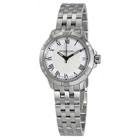 Raymond Weil Tango White Dial Ladies Watch 5960-ST-00300