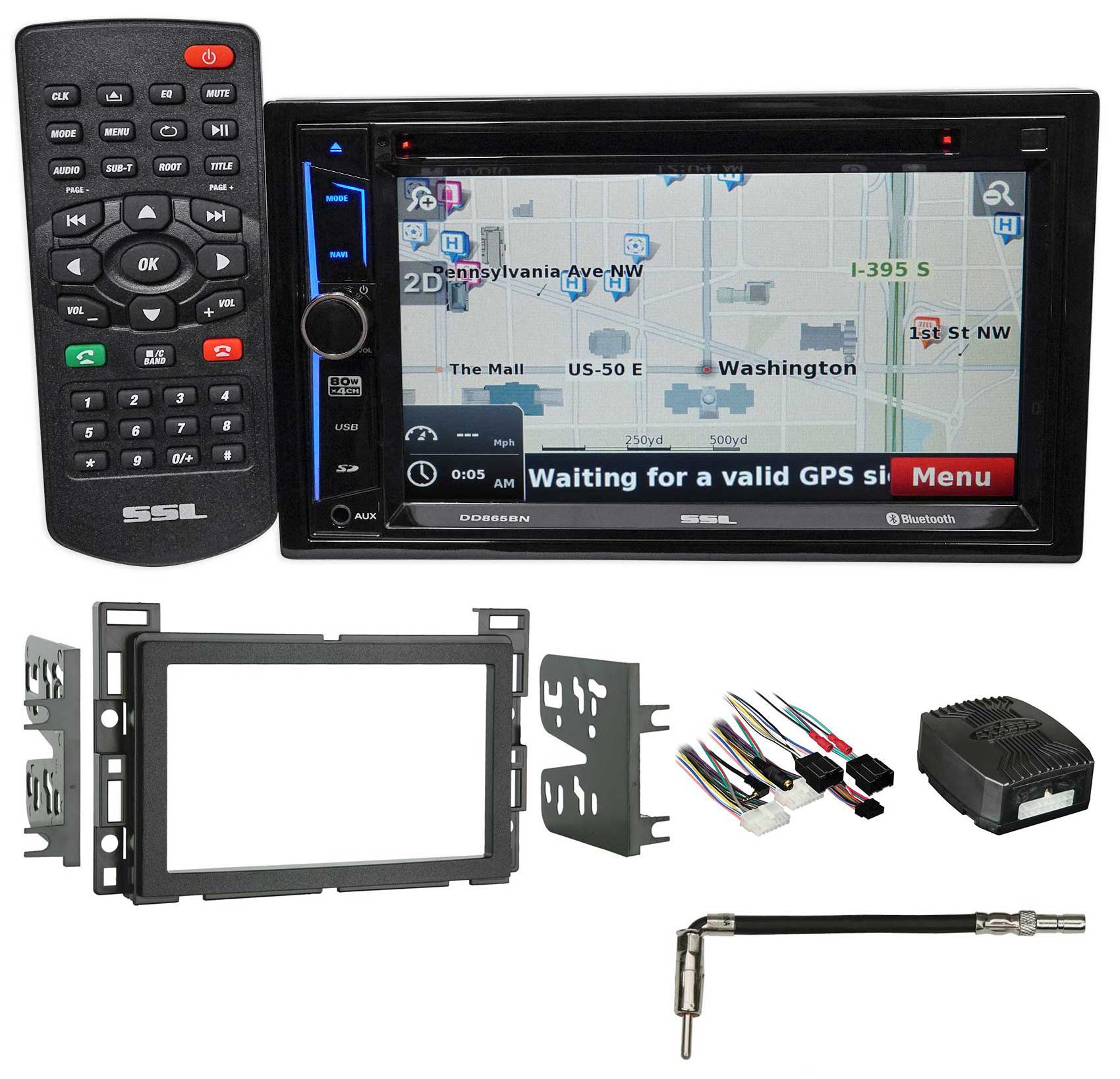 2009 Pontiac G6 Navigation/GPS/DVD Receiver Monitor Bluet...
