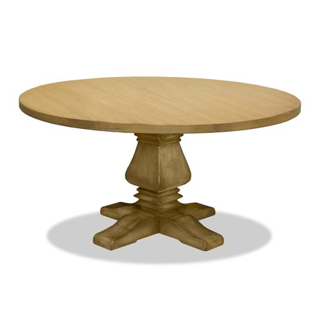South Cone Home Toscana Reclaimed Wood Round Dining Table Maple
