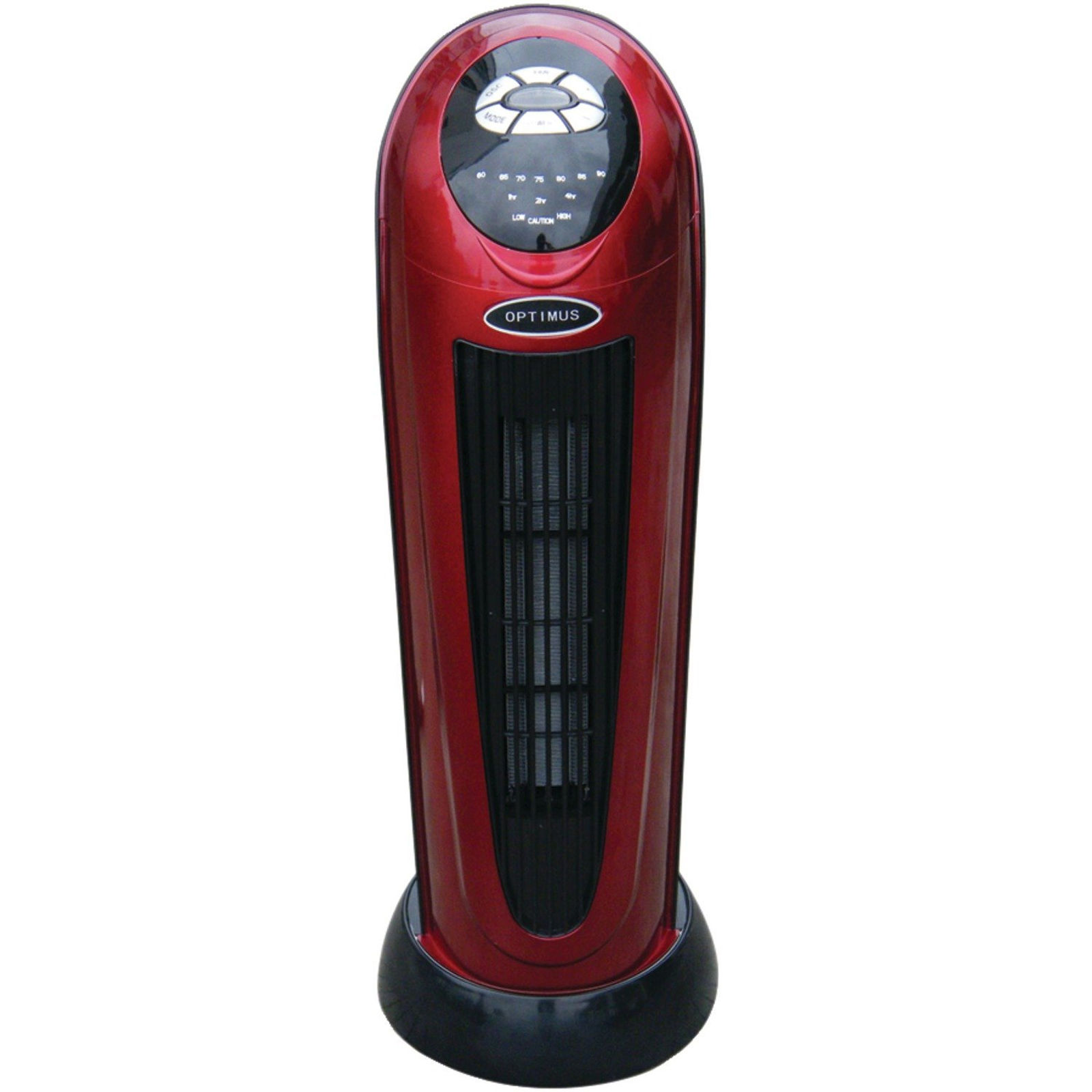 "Optimus 22"" Oscil Tower Heater with Digi Temp Readout and Setting, Remote"