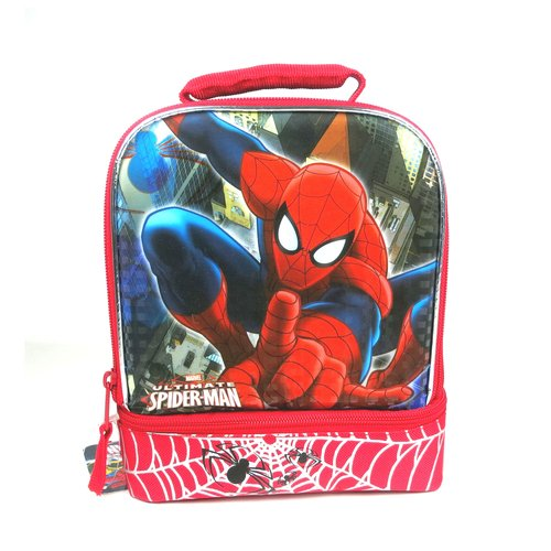Marvel Spider-Man Drop Bottom Lunch Kit